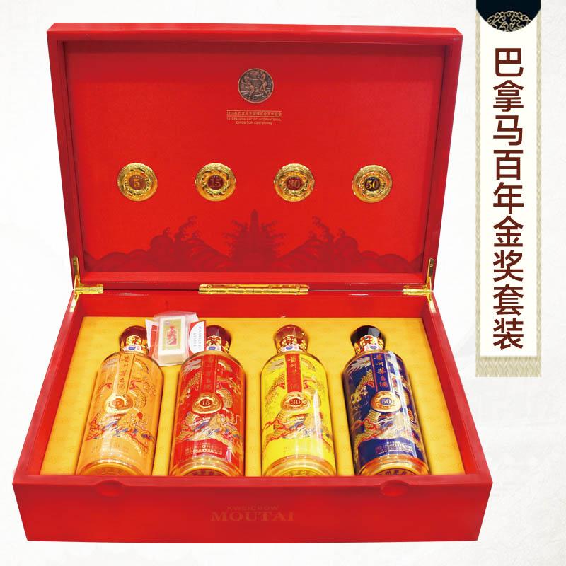 巴拿马百年金奖珍藏版 套装 500ml*4瓶